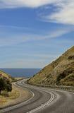 Route côtière photo stock