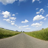 Route, campagne photo stock
