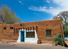 Route 66: Casa Vieja de Analco, Santa Fe, NM Arkivfoton