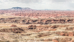 Route 66: Chinde Mesa, Kachina Point, Painted Desert, Petrified Royalty Free Stock Photography