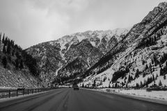 Route 70, Colorado Royalty Free Stock Image