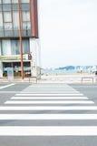 Route croisée image stock