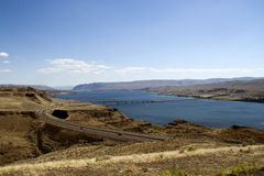 Columbia River Crossing Royalty Free Stock Photos