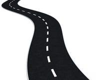 route curvy illustration libre de droits