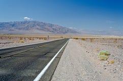 Route désolée Photos libres de droits