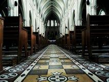 Route d'église Image stock