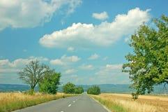 Route d'été Photo stock