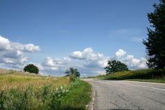 Route d'été Image libre de droits