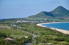 Route d'île Images stock