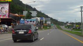 Route d'île de Phuket clips vidéos