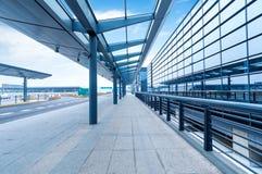 Route d'aéroport de Changhaï Pudong Photos libres de droits