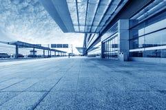 Route d'aéroport de Changhaï Pudong Photographie stock libre de droits