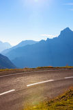 Route d'Alpes Image stock