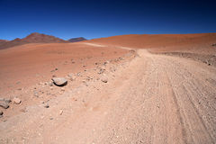Route d'Altiplano Image stock