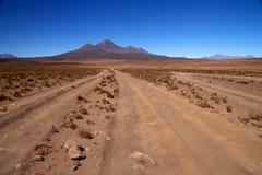 Route d'Altiplano Images libres de droits