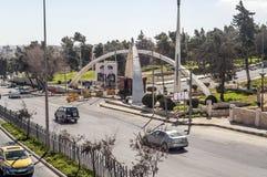 Route d'Amman Photos libres de droits