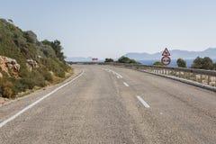 Route d'Antalya Kas-Patara entre Photos stock
