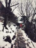 ROUTE d'architecture de Taoist de Wudang en Chine photographie stock