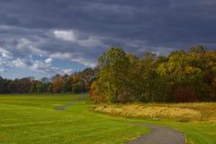 Route d'automne Image libre de droits