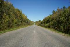 Route d'automne Images stock