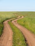 Route d'enroulement Image libre de droits