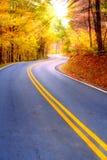 Route d'enroulement Photographie stock libre de droits