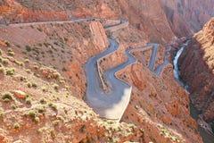 Route d'enroulement Photo libre de droits