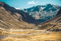 Route d'haute altitude Image libre de droits