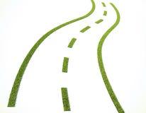 Route d'herbe Images libres de droits