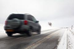 Route d'hiver Image libre de droits