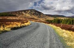 Route d'horizontal de montagne Image libre de droits