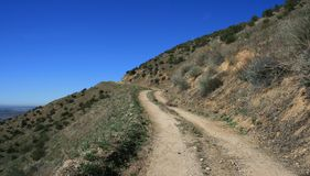 Route d'incendie de Cloudland Photos stock