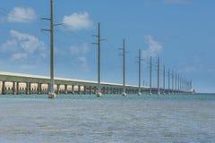 Route d'outre-mer de la Floride images stock