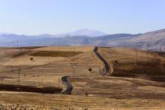 Route dans Adiyaman Image libre de droits