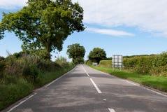 Route dans Cornouailles Photographie stock libre de droits