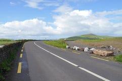Route dans Dingle, comté Kerry, Irlande Photo stock
