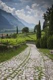 Route dans l'histoire Photos libres de droits