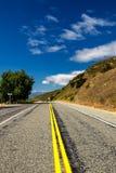 Route dans la campagne de l'île du sud, Nouvelle-Zélande photographie stock