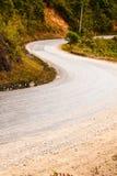 Route dans la vallée Photo libre de droits