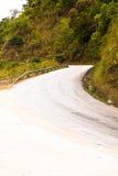 Route dans la vallée Images libres de droits