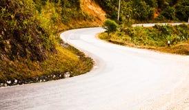 Route dans la vallée Image libre de droits