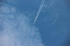 Route dans le ciel Images stock