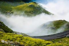 Route dans le nuage Images libres de droits
