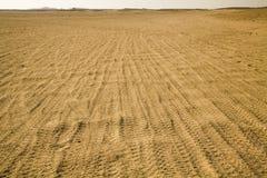 Route dans un désert Image libre de droits