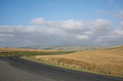 Route de baie de Titahi Photographie stock libre de droits