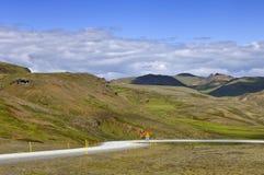 Route de boucle de l'Islande Images stock