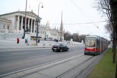 Route de boucle de Vienne Photographie stock