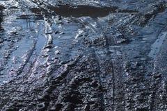 Route de boue Photo stock