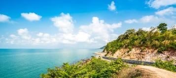 Route de côte Photos libres de droits