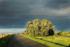 Route de campagne Photographie stock libre de droits